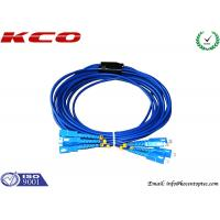 Quality SC to SC Fiber Optic Patch Cord Rodent Proof Armoured Cord Jumper wholesale