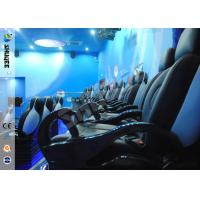 Quality Up / Down Movement 5d Movie Theatre Simulator With Glass Fiber Chair 1900 X 850 X 1400 wholesale