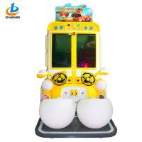 Quality Outdoor Cartoon Racing Arcade Machine / Double Players Car Racing Game Machine wholesale