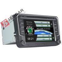 Cheap Wince System VW Car DVD Player With Usb Skoda Car Stereo Built In IPod 800M CPU for sale