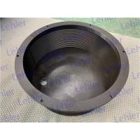 China Nitriding Treatment Surface Bead Mill Screen For Basket Mill Machine Slot 0.5mm on sale
