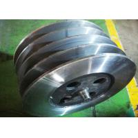 Quality High Precision Lebus Grooved Drum / Crane Drum Weldment Type DNV Certification wholesale