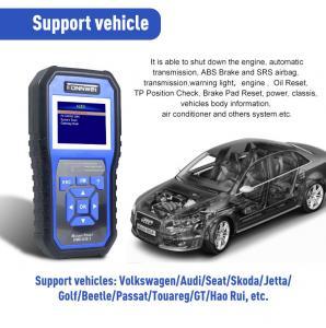 China Skoda Vw FCC Obdii Eobd Car Diagnostic Scanner KW450 on sale