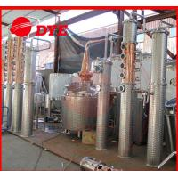 Quality 100gal alcohol commercial distilling equipment , whiskey distillation equipment wholesale