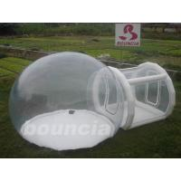 Quality 0.5mm PVC Or TPU Inflatable Trasparent  Bubble Tent For Trade Show wholesale