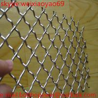 China Square  hole Crimped Wire Mesh on sale