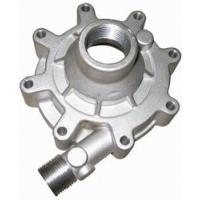 Quality Auto Parts Casting Green Sand Casting Replacement Water Pump Body / Oil Pump Cover For Car Engine wholesale