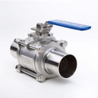 Quality 2 Way Welding Stainless Steel Threaded Ball Valve For Gas And Water wholesale
