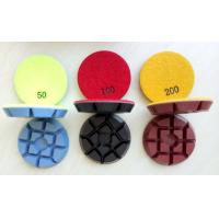 Quality 3inch, 75mm Colourful Concrete Floor Polishing Pads, 11mm thickness wholesale