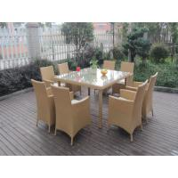China Wicker Rattan Garden Dining Sets , Comfortable Cane Furniture on sale
