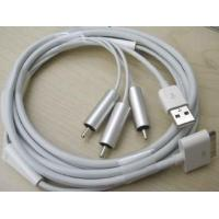 China AV Cable for iPhone 3G/3GS, iPad (EG271) on sale