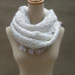 Quality Chunky Woven Winter Knitted Scarf Custom Logo Acrylic Warm Crochet Designs wholesale