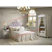 Quality Exquisite Design and Workmanship for Lovely Girls Bedroom Furniture set in White Color wholesale