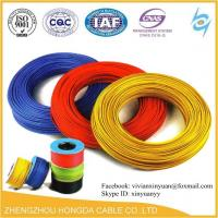 Quality 300/500V AWG 1.5mm2 2.5mm2 4mm2 6mm2 10mm2 16mm2 pvc coated copper wire electrical cable wholesale