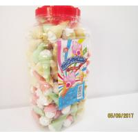 Cheap Jar Packaging Snacks Ice Cream Shape Fruity Flavor Marshmallow Candy , for sale