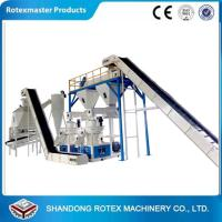China Small Capacity Biomass Fire wood Pellet Production Line For Making Fuel Pellet on sale