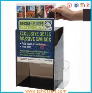 Cheap Acrylic Suggestion box, Acrylic Donation & Ballot Box for sale
