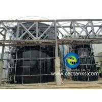 China Glass - Fused - To Steel GFS Bolted Storage Tanks For Municipal Wastewater Treatment on sale