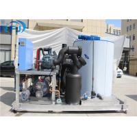 Quality 10 Tons Industrial Flake Ice Making Machine R22 / R404A Refrigerant New Condition wholesale