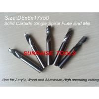 China Single Flute End Mill on sale