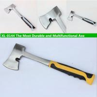 China XL-0144 The most durable Axe with grade A polishing surface and conjoined steel handle on sale