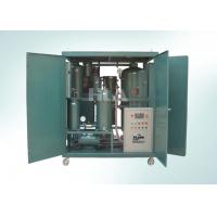 Quality Mobile Fully Automatic Mobile Oil Purification Plant Physical Treatment wholesale
