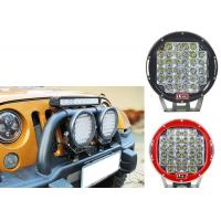 Quality 96W Red Black Housing LED Driving Lights For Offroad And Truck 4x4 Waterproof Round led Work Light wholesale