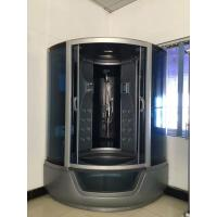 Cheap ABS Material steam double shower cabin with tray , 150 X 150 X 220 / cm complete for sale