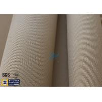 "Quality Brown Silica Fabric 1400℉ 1200G 1.3MM 36"" High Temp Insulation Blanket wholesale"