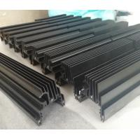 Quality CNC Machined Black Anodized Aluminium Heat Sink Profiles For LED Light wholesale