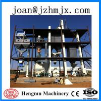 Quality 8T/h large capacity animal feed pellet production line wholesale