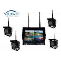 China 2.4G 4CH Car Video Wireless DVR system 7 Inch Monitor With 128GB SD Card on sale