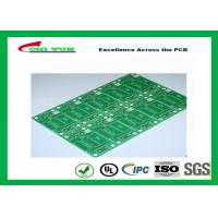 Quality Tamura Matte Green Single Sided PCB   1L FR4 1.6mm Immersion Gold PCB wholesale