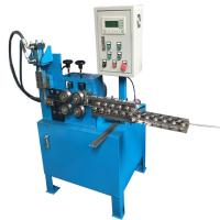 China Fully Automatic Wire Straightening And Cutting Machine Hydraulic Feeding PLC Control on sale