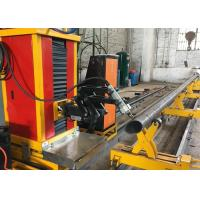 Quality with flame and plasma cutting mode stainless steel round pipe square pipe cutting machine wholesale