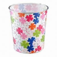 Quality Trash Bins, Made of PP, Available in Various Sizes and Colors wholesale