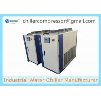 Quality 5-35 degree C 3Ton Air Cooled Water Chiller for 50L Grinding Machine wholesale