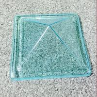 China Plastic Polycarbonate Roof Domes Cover , Clear Round Skylight Dome Replacement on sale