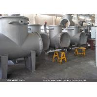 Buy cheap T Type oil pipeline filter manufacturer for chemical industry from wholesalers