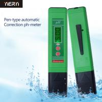 China Water Quality Analysis Digital Ph Meter Device / Hydroponic Ph Tester For Aquarium Pool Water on sale