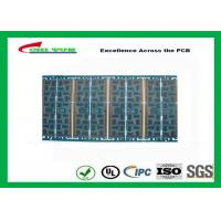 Quality Multilayer Quick Turn PCB Prototypes 4 layer FR4 1.2mm Blue Solder Mask Panel Size 160*80mm wholesale