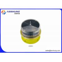 Quality Helipad LED Aviation Obstacle Light With Solar Panel Die Casting Aluminum wholesale