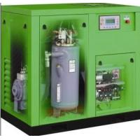 Quality 7.5KW Silent Oil Free Screw Air Compressor , Double Screw Air Compressor wholesale