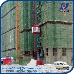 SC200 2000kg Building Construction Hoist Aingle Elevator Cage