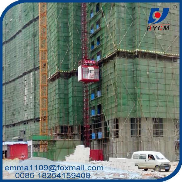 Cheap SC200 2000kg Building Construction Hoist Aingle Elevator Cage for sale