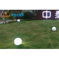 Cheap RGB 16 Color Changing Ball Light , Ø35CM Dimension Floating Pool Ball Lights for sale