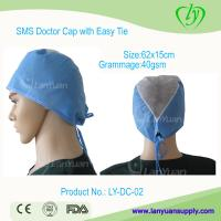 Quality Disposable SPP Doctor Cap with Easy Ties wholesale