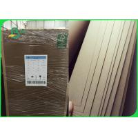 Quality 100% Virgin FSC Kraft Liner Board Paper Durable 400gsm For Mailling Boxes wholesale