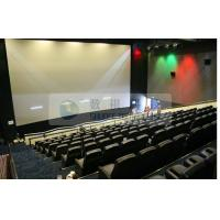 Quality Pneumatic / Hydraulic / Electronic Control 4D Motion Cinema with removable theater seats wholesale