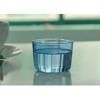 Quality Colored high borosilicate pyrex double wall drinking glasses , Light blue wholesale